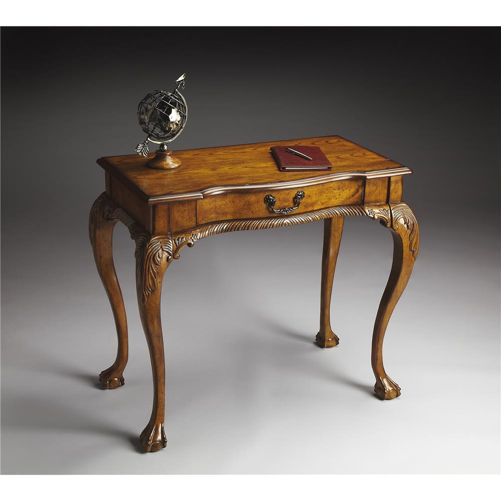 Butler Specialty 6042001 DUPREE Butler Dupree Vintage Oak Writing Desk