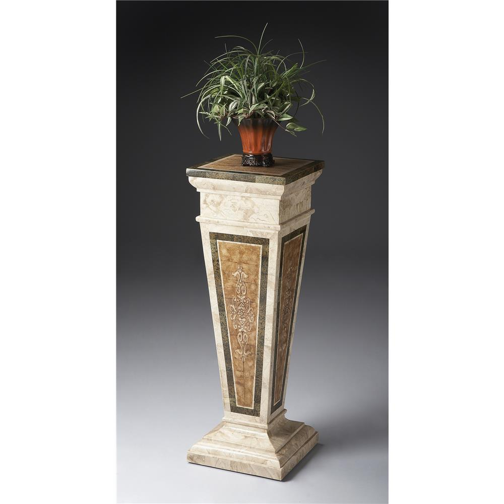 Butler Specialty 6062070 AUGUSTUS Butler Augustus Etched Fossil Stone Pedestal