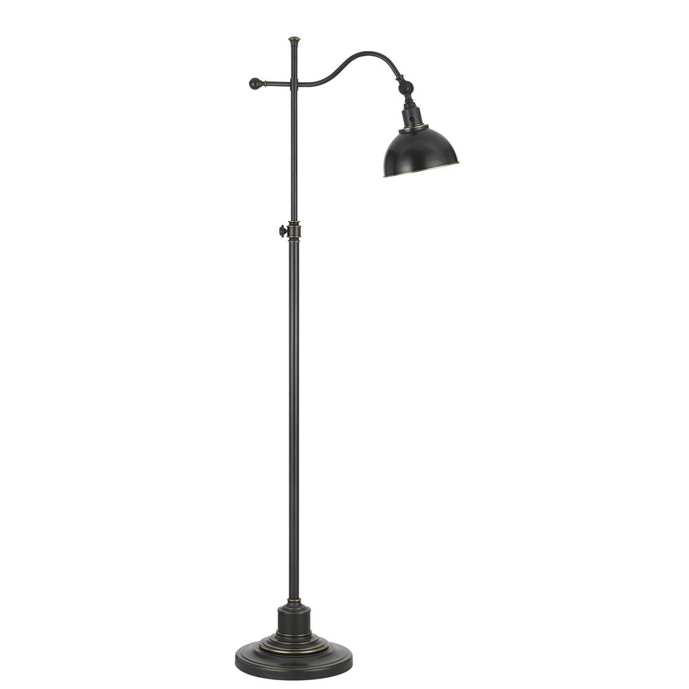 Table lamp height - Cal Lighting Bo 2588fl Orb 60 Height Metal Floor Lamp In Oil Rubbed