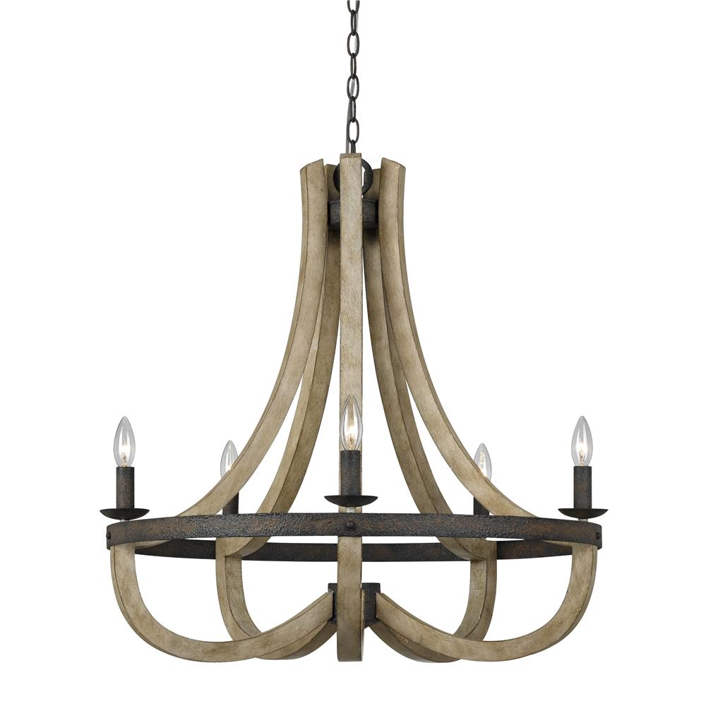 fx 3590 5 cal lighting fx 3590 5 wood rust branson 5 light chandelier goinglighting cal lighting wood chandelier