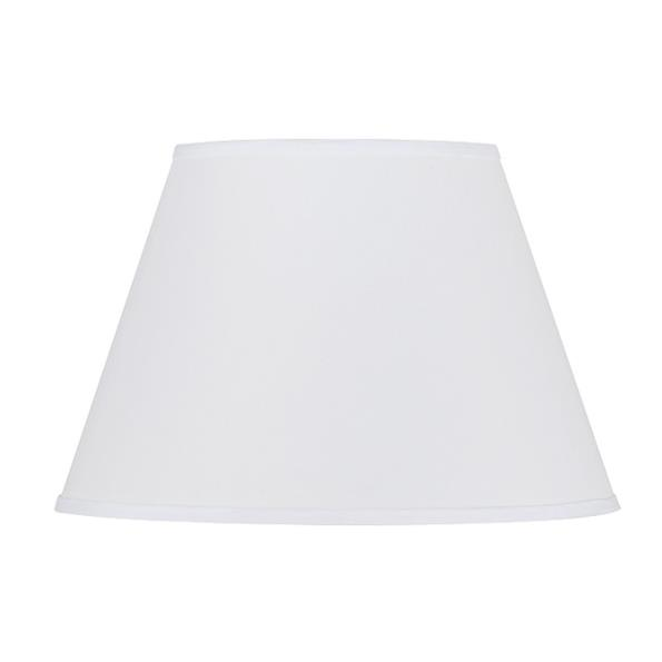 Cal Lighting SH-1330 HARDBACK ROUND FABRIC SHADE 9X16X11