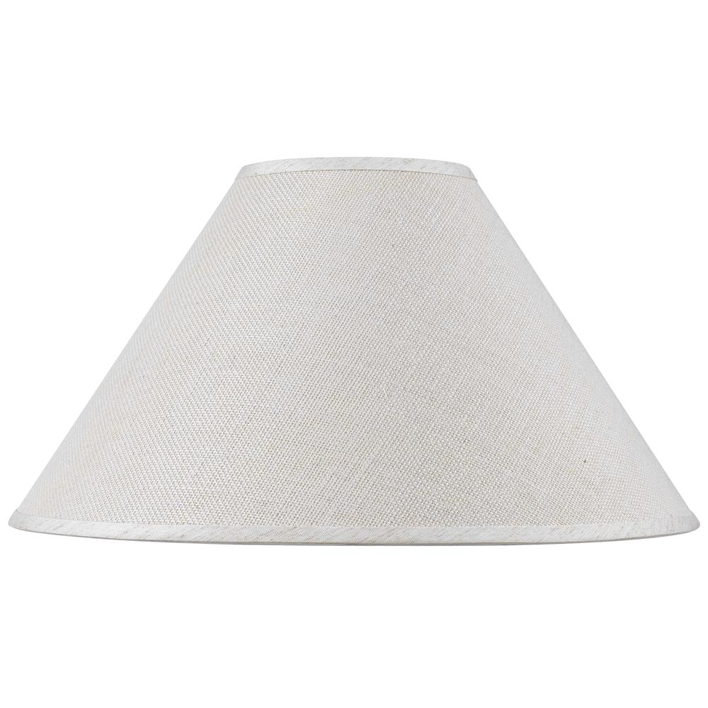 Cal Lighting Sh-8110-19 Hardback Fine Burlap Shade