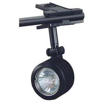 "Cal Lighting BO-228-BK Black Clamp Open to 1.25"" / 5ft. Cord with Inline Switch"