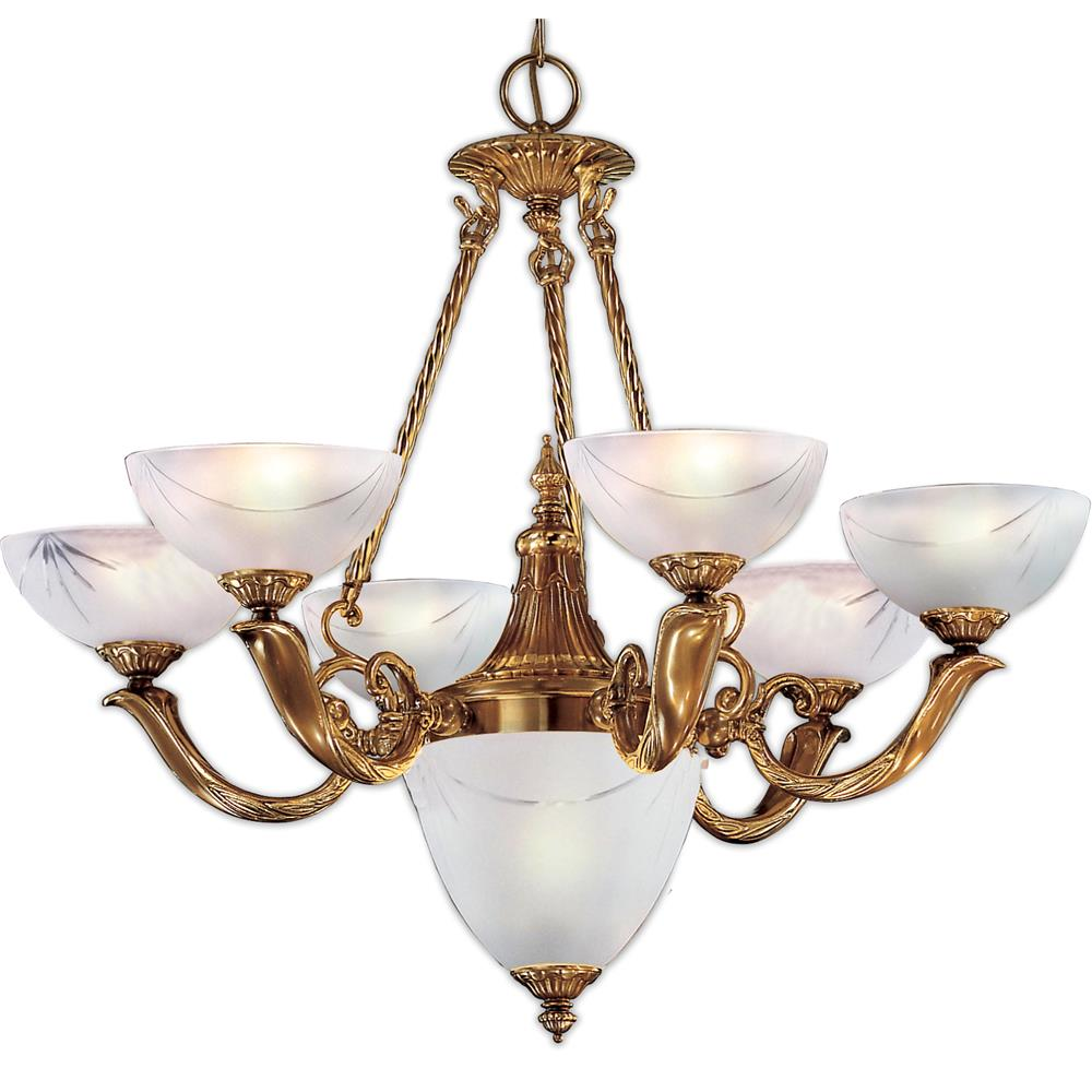Classic Lighting 5657 ABZ Valencia Chandelier in Antique Bronze