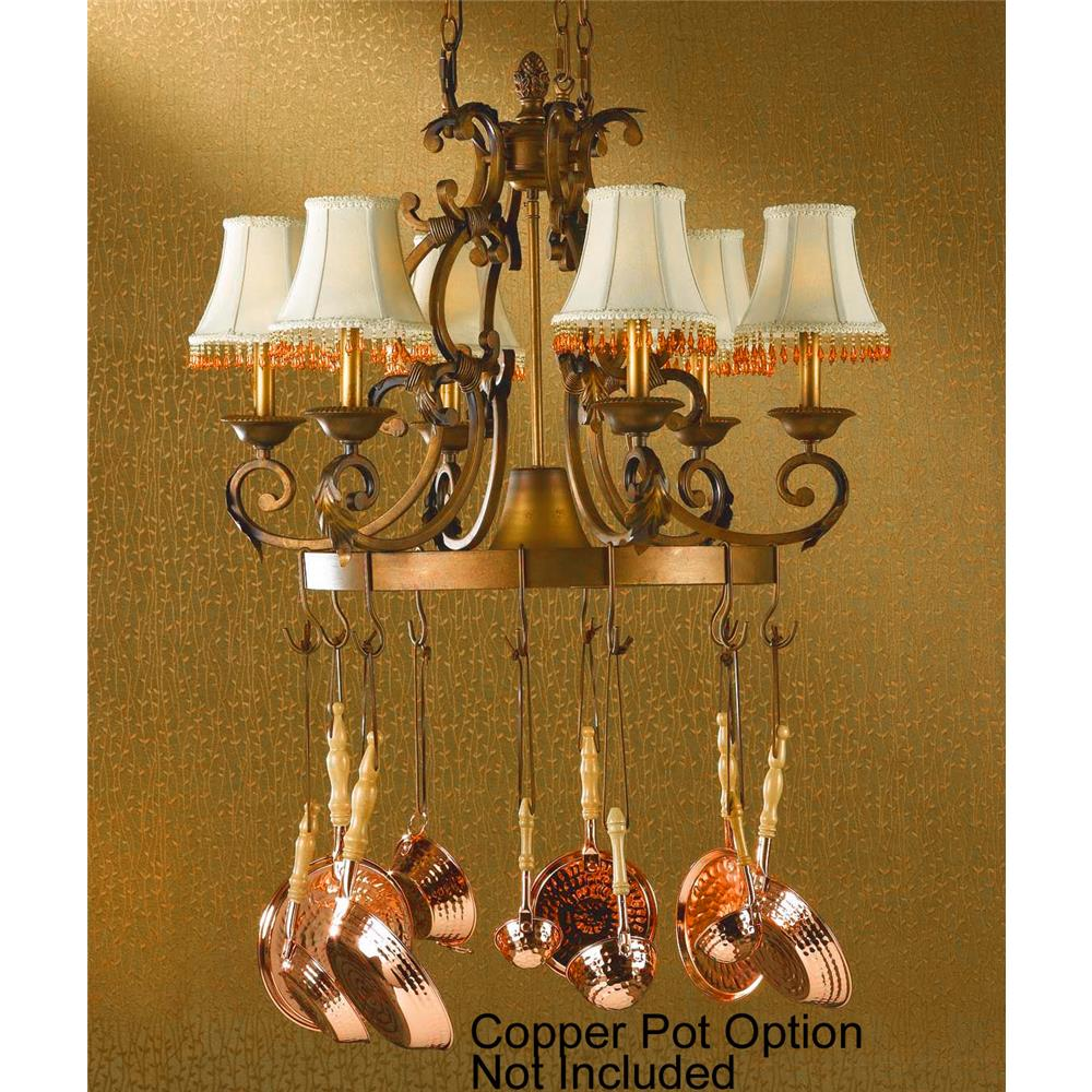 Classic Lighting 92207 CPB Asheville Island / Billiard in Copper Bronze