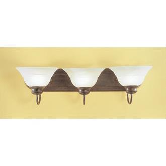 Classic Lighting 68413 EB Glendale Vanity in English Bronze