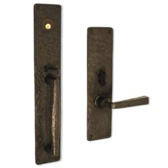 "Coastal Bronze 130-00-MOR Square Plate 18"" Mortise any Lever, Knob"