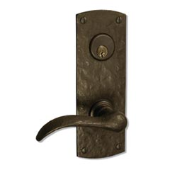 "Coastal Bronze 210-00-MOR Arch Plate 8"" Mortise any Lever, Knob"