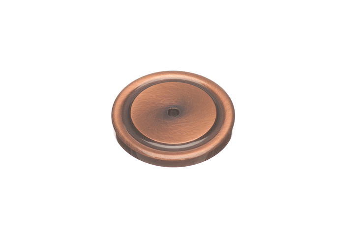 """Colonial Bronze 202-320 1 3/4"""" diameter  Rose - Mill Finish Sanded"""