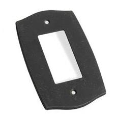 Colonial Bronze 6005-1G-4 Single GFI Colonial Switch Plate- Satin Brass