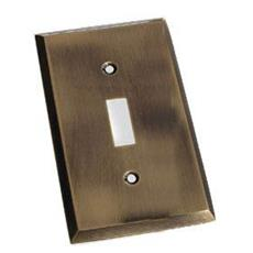Colonial Bronze 6008-1T-10 Single Toggle Square Bevel - Satin Bronze
