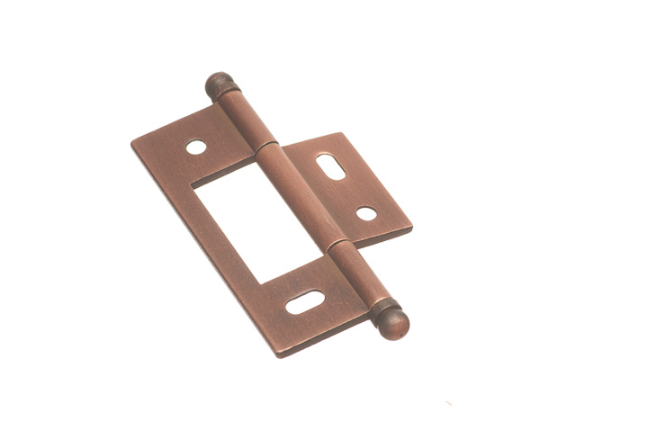 "Colonial Bronze NMH925BT-S10B 7 1/2"" x 7/8"" Non Mortised Hinge  - Heritage Bronze"