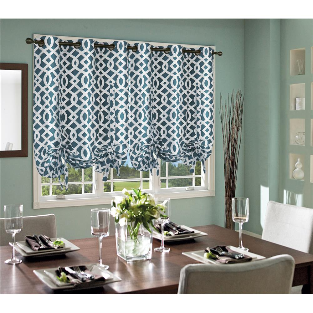 "Commonwealth Home Fashions 71191-221-63-630 Thermalogic ""Trellis Tie-Up"" Grommet Panel"