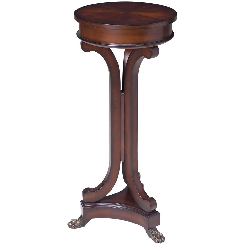 Cooper Classics 5825 Rustic Mahogany Finish, Sloan Square Pedestal