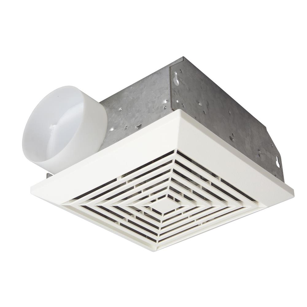 Craftmade TFV50 50 CFM Bathroom Exhaust Fan in White