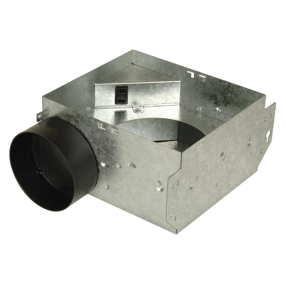 Craftmade TFV50B-H 50 CFM Bath Vent Housing Only with 3