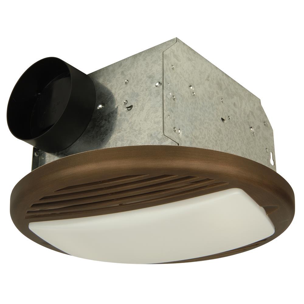 Craftmade TFV50L-BZ 50 CFM Bathroom Exhaust Fan Light in Bronze