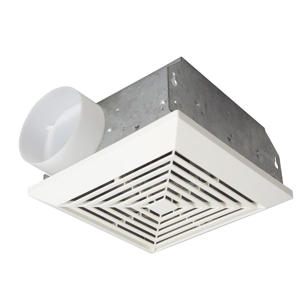 Craftmade TFV70 70 CFM Bathroom Exhaust Fan in White