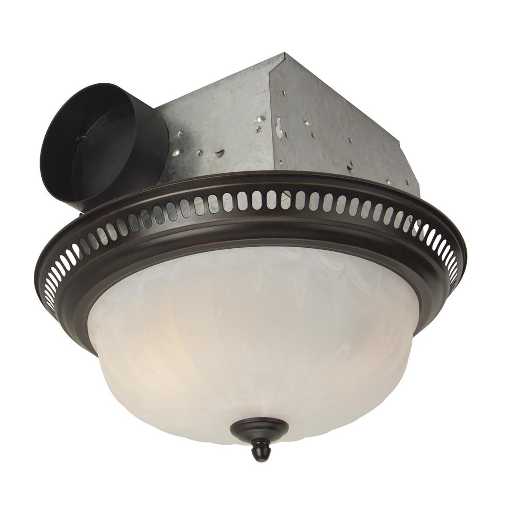 Craftmade TFV70L-DORB 70 CFM Decorative Fan with Light in Oil Rubbed Bronze