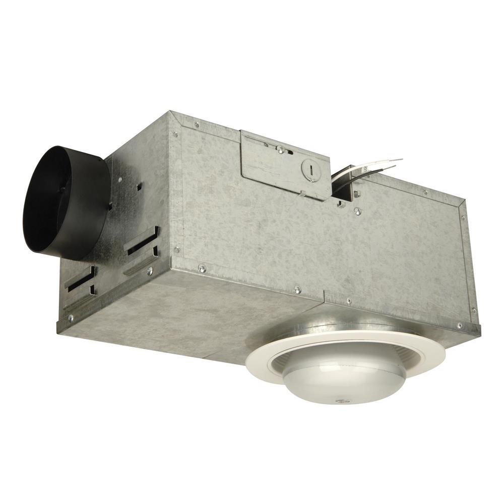 Craftmade TFV70REC Recessed 70 CFM Ventilator/75W Light with White Trim