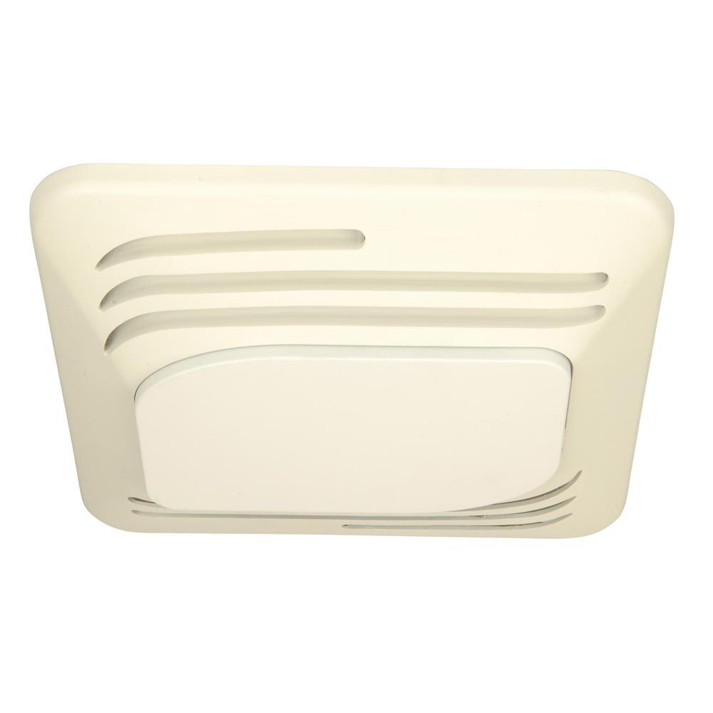 Craftmade TFV80SL 80 CFM Silent Fan Light in Designer White