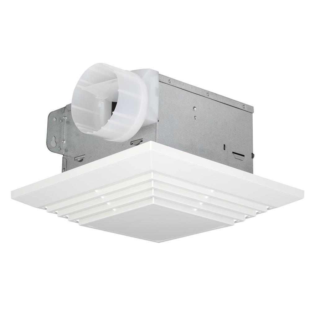 Craftmade TFV90 90 CFM Bathroom Exhaust Fan in White