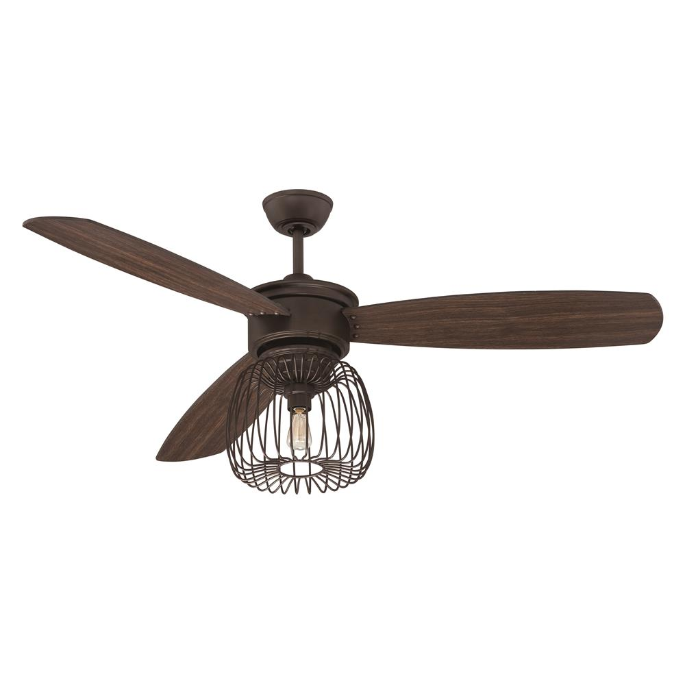 """Ceiling Fans W Lights: Ellington Fans LAR54ESP3 54"""" Ceiling Fan W"""