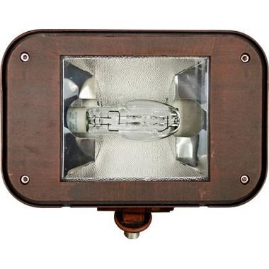 Dabmar Lighting DF1940-BZ Powder Coated Cast Aluminum Flood Fixture in Bronze