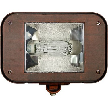 Dabmar Lighting DF1924-BZ Powder Coated Cast Aluminum Flood Fixture in Bronze