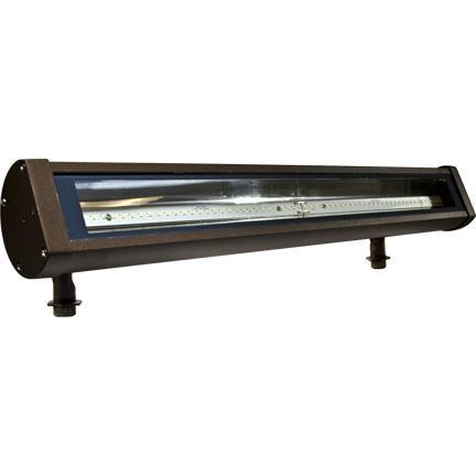 Dabmar Lighting DF-LED9400 Cast Aluminum 2ft LED Sign Light in Bronze