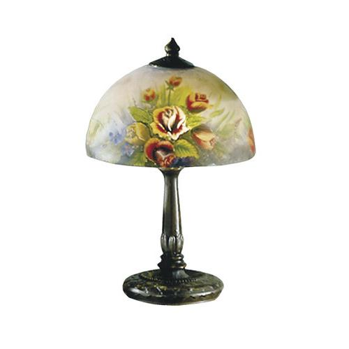 Dale Tiffany 10057/610 Rose Dome Table Lamp