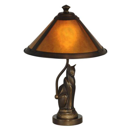 Dale Tiffany TA90197 Ginger Mica Accent Lamp
