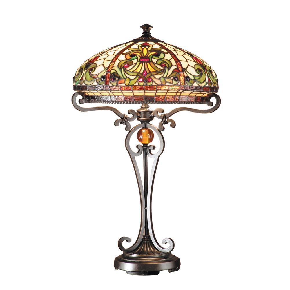 Dale Tiffany TT101114 Boehme Table Lamp