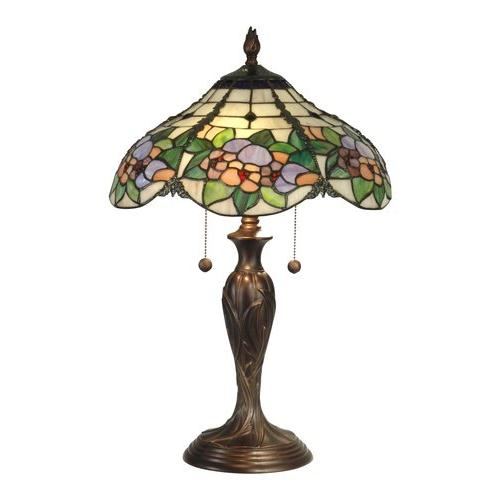 Dale Tiffany TT90179 Chicago Table Lamp