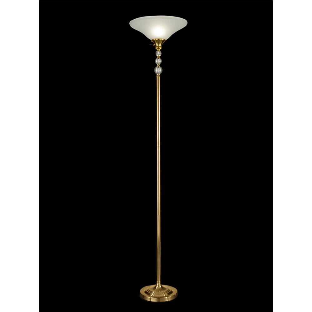 Dale Tiffany GR12303 Optic Glass Orb Floor Lamp