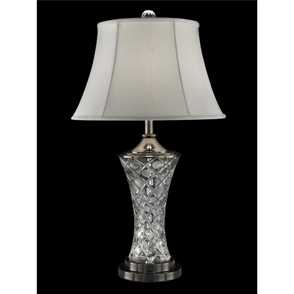 gt13266 dale tiffany gt13266 rockledge crystal table lamp. Black Bedroom Furniture Sets. Home Design Ideas