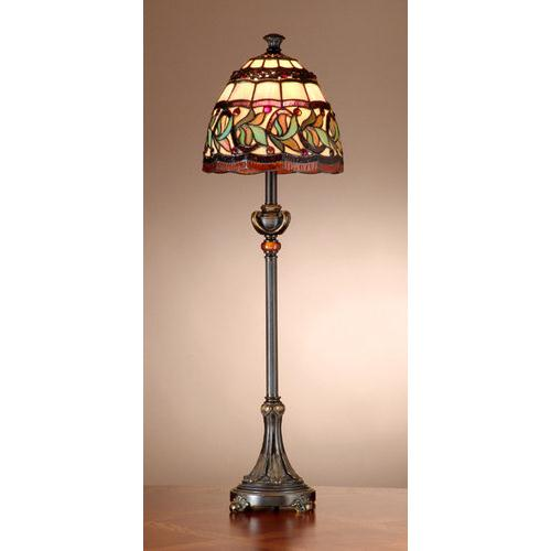 Dale Tiffany TB101109 Aldridge Buffet Lamp