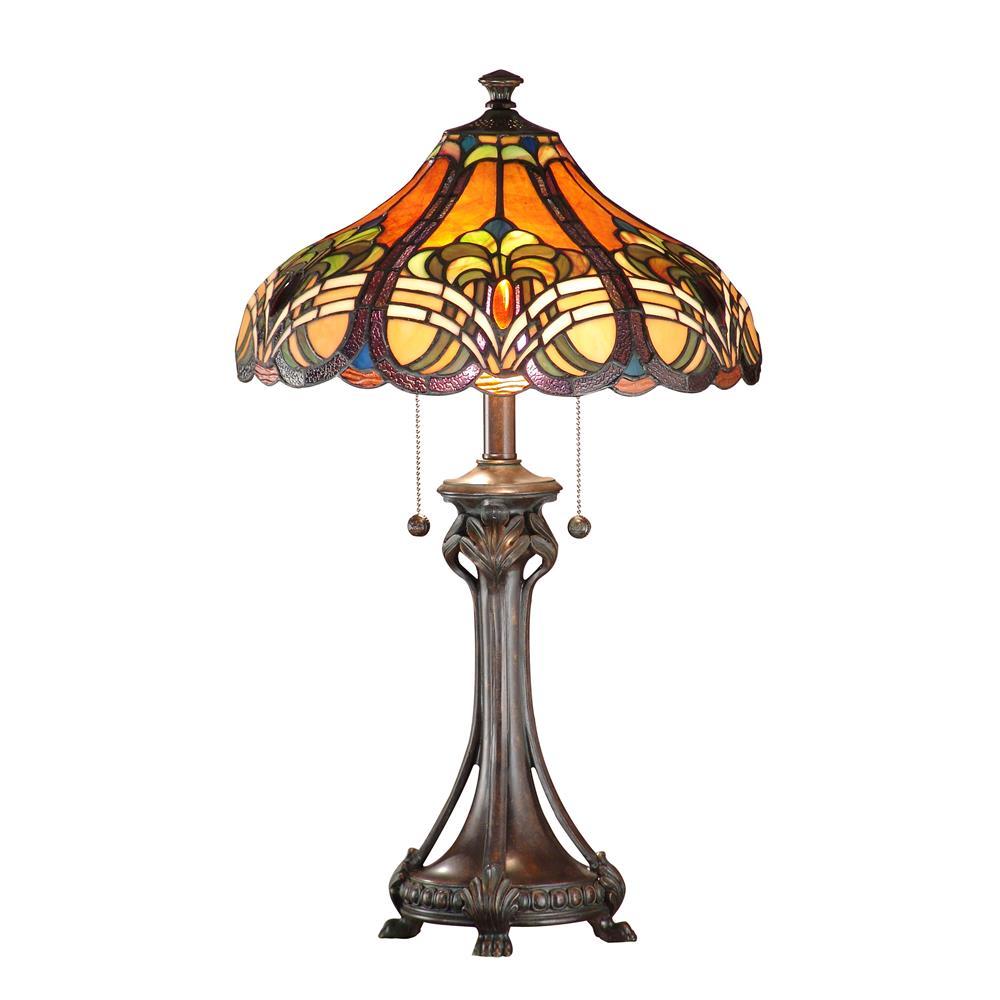 Dale Tiffany TT101033 Bellas Table Lamp