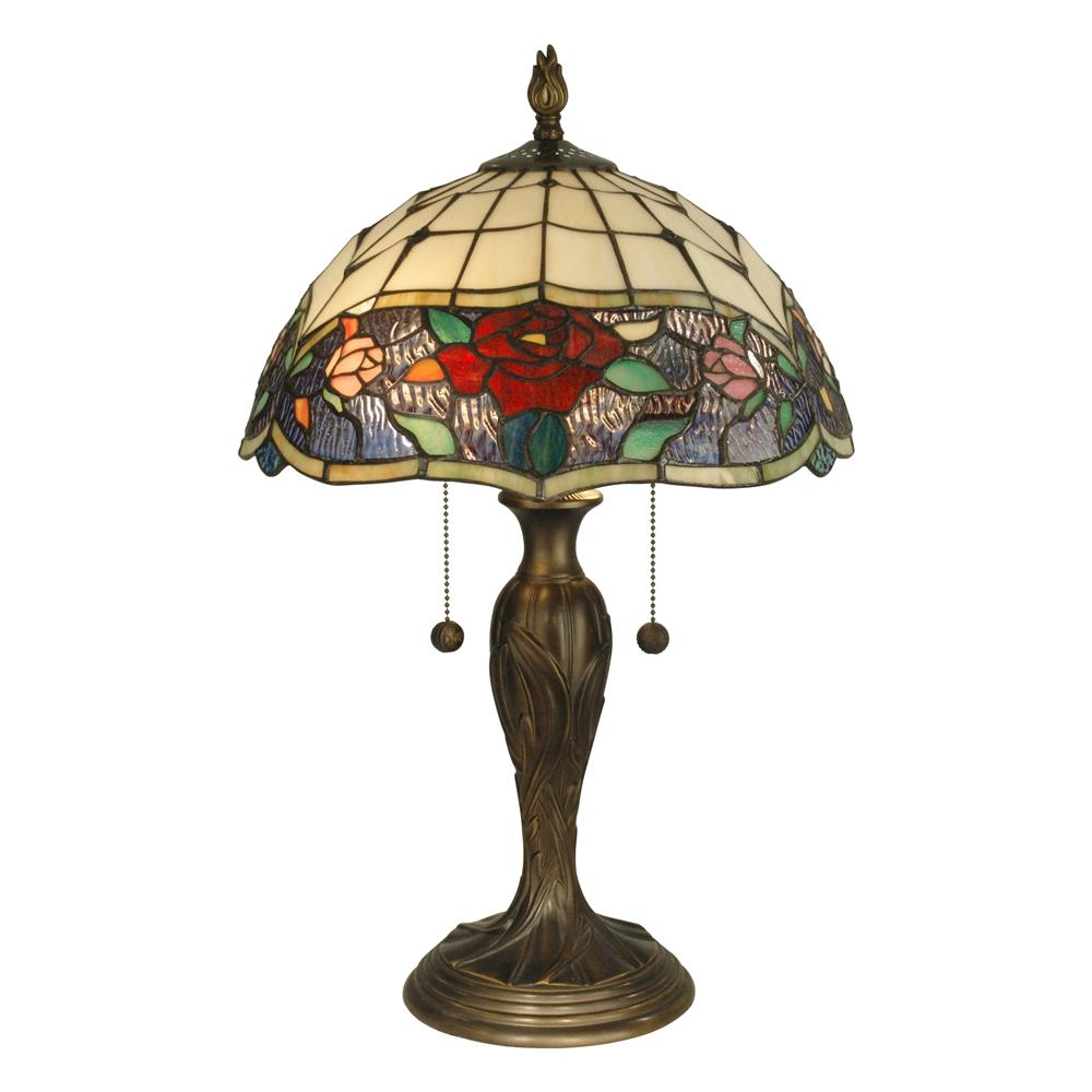 Dale Tiffany TT10211 Malta Tiffany Table Lamp