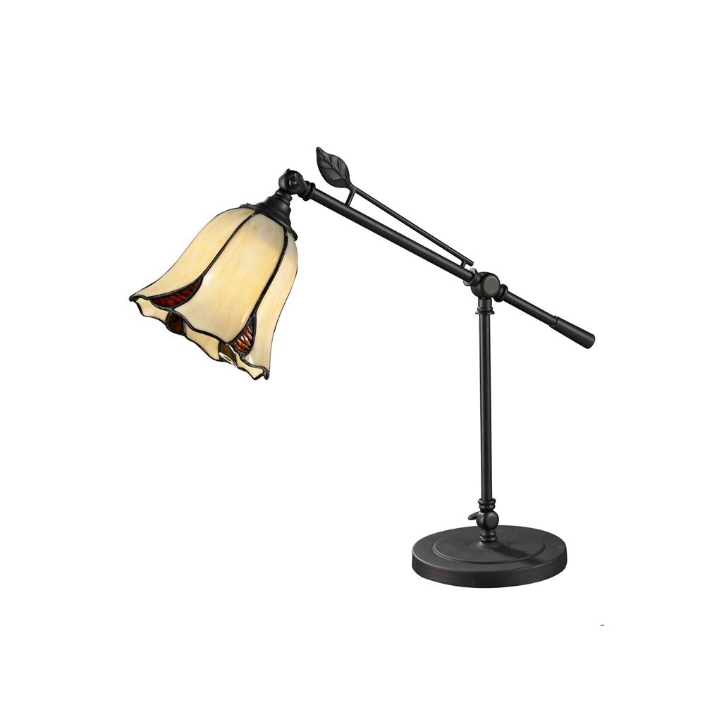 Dale Tiffany TT12432 San Antonio Mini Table Lamp