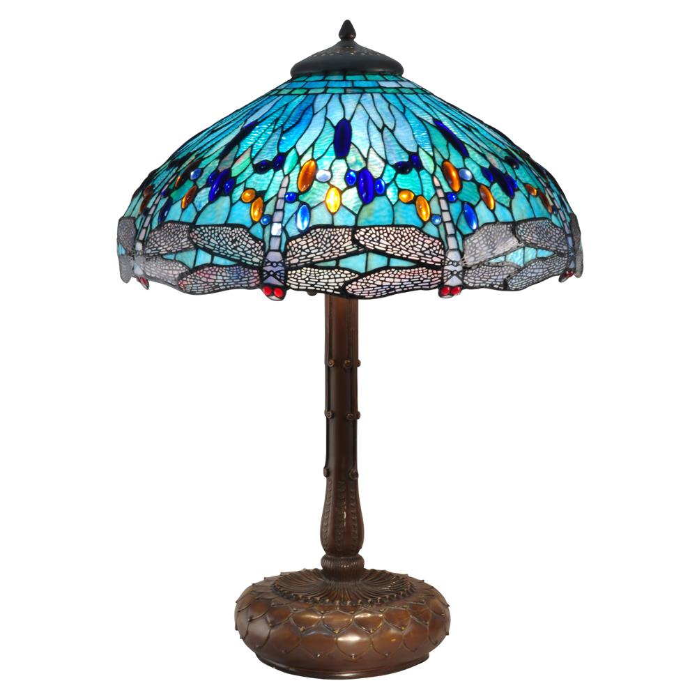 tt15103 dale tiffany tt15103 lg blue dragonfly table lamp. Black Bedroom Furniture Sets. Home Design Ideas