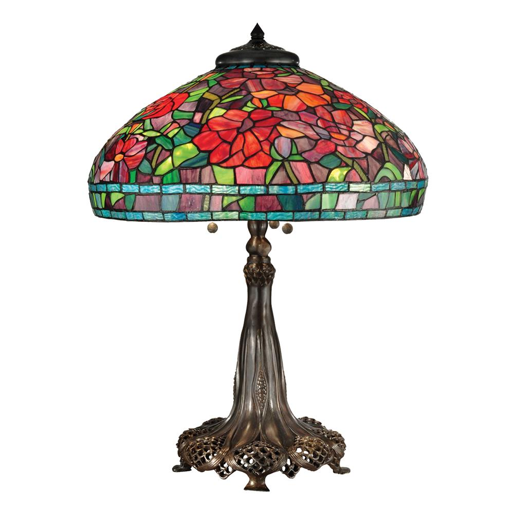 tt15104 dale tiffany tt15104 red peony table lamp goinglighting. Black Bedroom Furniture Sets. Home Design Ideas