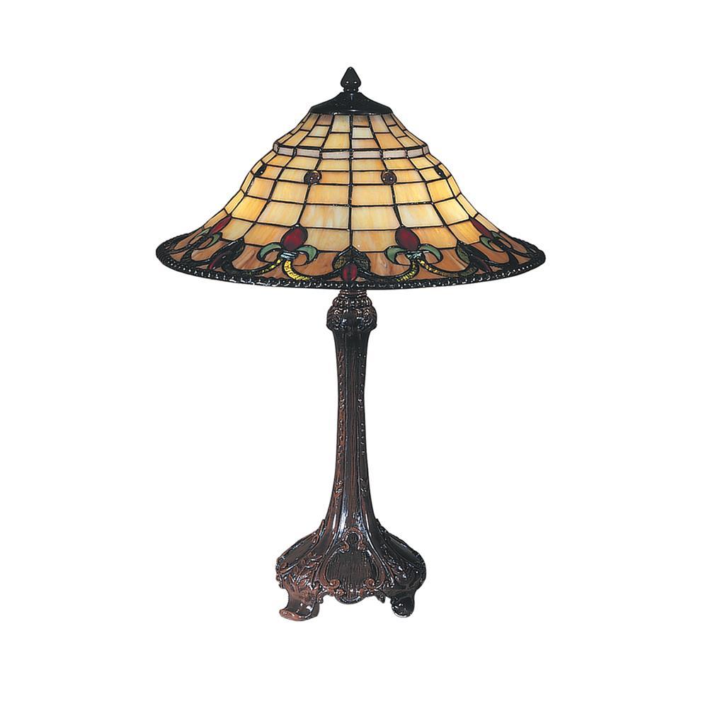 dale tiffany tt100551 spencer table lamp. Black Bedroom Furniture Sets. Home Design Ideas