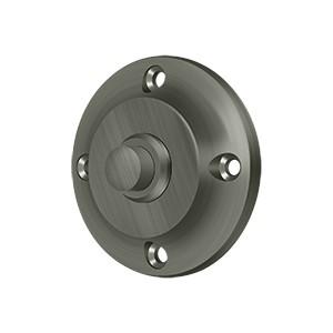 Deltana BBR213U15A Bell Button, Round Contemporary