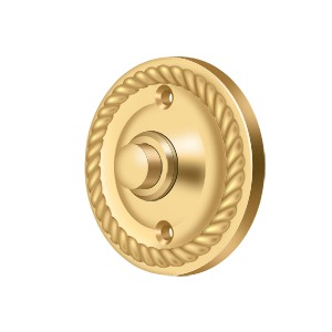 Deltana BBRR213CR003 Bell Button, Round Rope