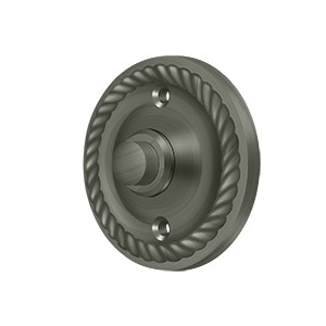 Deltana BBRR213U15A Bell Button, Round Rope