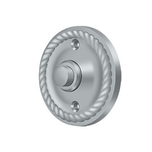 Deltana BBRR213U26D Bell Button, Round Rope