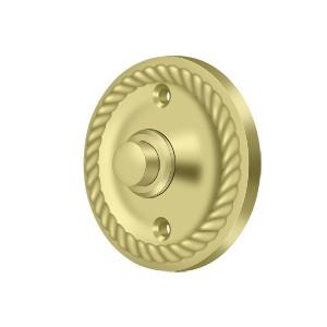 Deltana BBRR213U3 Bell Button, Round Rope