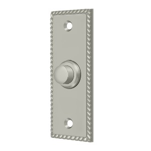Deltana BBSR333U15 Bell Button, Rectangular Rope