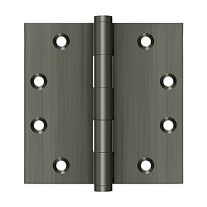 """Deltana DSB4515A 4 1/2"""" x 4 1/2"""" Square Hinges"""